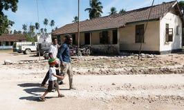 Tradycyjny życie Zanzibar ludzie fotografia stock