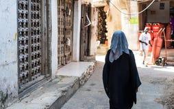 Tradycyjny życie Zanzibar ludzie fotografia royalty free