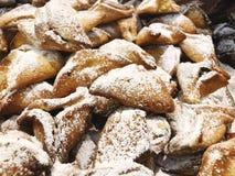 Tradycyjny Żydowski wakacyjny jedzenie - Purim Hamantaschen fotografia stock