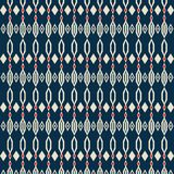 Tradycyjny abstrakt kształtuje bezszwowego wzór Zdjęcie Stock