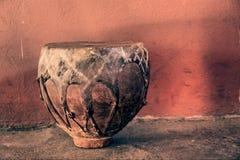 Tradycyjny Afrykański bęben - rocznik Fotografia Stock