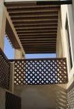 Tradycyjny Arabski balkonu dach Obrazy Royalty Free