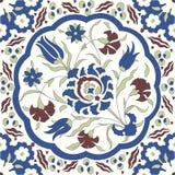 Tradycyjny Arabski ornament bezszwowy dla twój projekta Desktop tapeta Tło Iznik ilustracja wektor