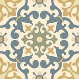 Tradycyjny Arabski ornament bezszwowy dla twój projekta Desktop tapeta Tło Iznik royalty ilustracja