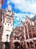 Tradycyjny, architektura, Niemcy Zdjęcia Stock