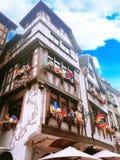 Tradycyjny, architektura, Niemcy Zdjęcia Royalty Free
