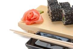 tradycyjny azjatykci karmowy suszi zdjęcie stock