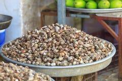Tradycyjny azjatykci rybi rynek Zdjęcia Stock