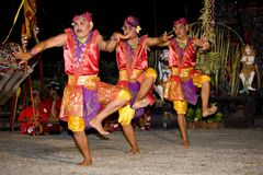 tradycyjny Balijczyka tancerz Obraz Royalty Free