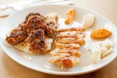 Tradycyjny Balkan mięsny naczynie obrazy stock