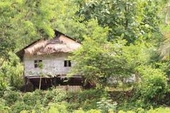 Tradycyjny bambusa dom Fotografia Stock