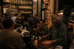 Tradycyjny bar zakładający portugalczykiem jest częścią Carioca kultura Zdjęcie Royalty Free