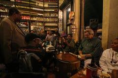 Tradycyjny bar zakładający portugalczykiem jest częścią Carioca kultura Fotografia Royalty Free
