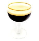 Tradycyjny Belgijski Piwny szkło Żadny logo Zdjęcie Royalty Free