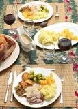 tradycyjny Boże Narodzenie gość restauracji Obrazy Stock