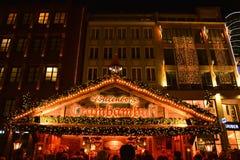 Tradycyjny boże narodzenie rynek w Monachium Obraz Royalty Free