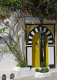 tradycyjny brama tunezyjczyk Zdjęcia Stock