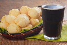 Tradycyjny brazylijski serowy chleb Obrazy Royalty Free