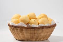 Tradycyjny brazylijski serowy chleb Fotografia Stock