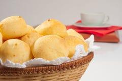 Tradycyjny brazylijski serowy chleb Obrazy Stock