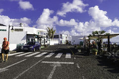 Tradycyjny budynek w El Golfo Zdjęcia Royalty Free