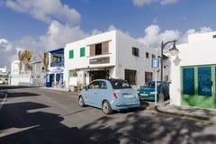 Tradycyjny budynek w El Golfo Fotografia Royalty Free