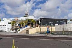 Tradycyjny budynek w Teguise Zdjęcia Royalty Free