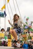 Tradycyjny Chairoplane przy Oktoberfest w Monachium Obrazy Stock