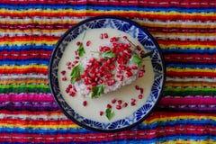 Tradycyjny Chile w nogada poblano Zdjęcia Stock