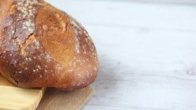 Tradycyjny chleb zbiory wideo