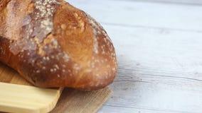 Tradycyjny chleb zdjęcie wideo