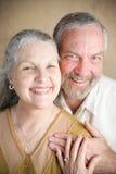 Tradycyjny Chrześcijański małżeństwo - seniory Fotografia Royalty Free