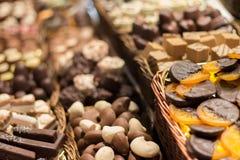Tradycyjny czekoladowy sklep obrazy stock