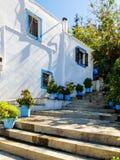 Tradycyjny dom, Grecja Zdjęcia Royalty Free