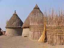 Tradycyjny dom w Afryka Fotografia Royalty Free