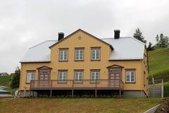 Tradycyjny dom w Akureyri Obrazy Stock