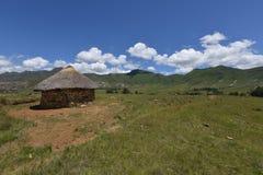 Tradycyjny dom w Lesotho Obraz Royalty Free