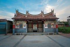 Tradycyjny dom w Tajwańskiej wiosce zdjęcia stock