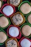 Tradycyjny domowej roboty ryżowy cukierki, japoński mochi Zdjęcie Stock