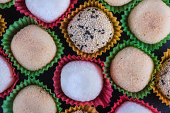 Tradycyjny domowej roboty ryżowy cukierki, japoński mochi Obrazy Stock
