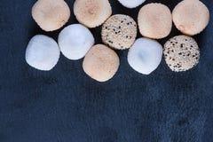 Tradycyjny domowej roboty ryżowy cukierki, japoński mochi Zdjęcia Stock