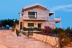 tradycyjny domowy dalmatian zmierzch Fotografia Royalty Free
