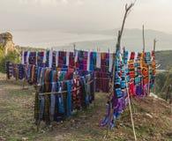 Tradycyjny Dorze rynek Hayzo wioska Dorze Etiopia obrazy royalty free