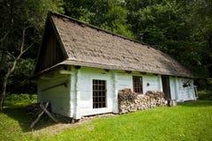 Tradycyjny drewniany dom Zdjęcie Stock