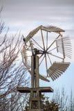 Tradycyjny drewniany wiatraczek, Kansas Obraz Royalty Free