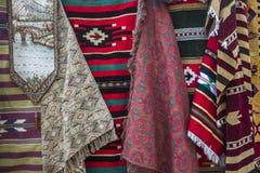 Tradycyjny dywanu sklep zdjęcia royalty free