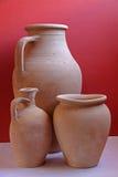 tradycyjny earthenware garncarstwo Obrazy Royalty Free