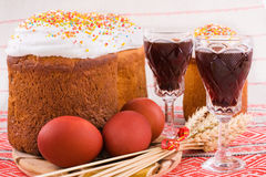 tradycyjny Easter jedzenie Fotografia Stock