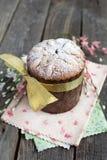 Tradycyjny Easter tort, Kulich Zdjęcie Royalty Free