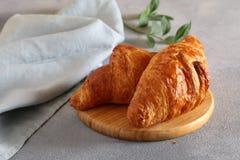 Tradycyjny Francuski Croissant fotografia stock